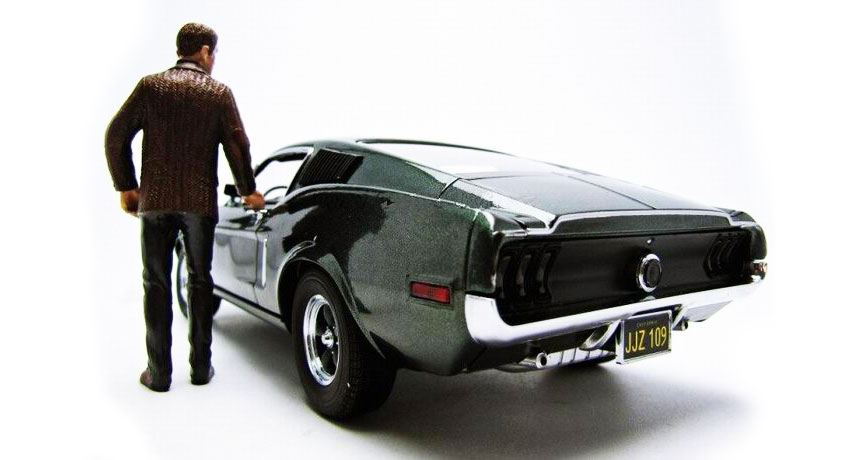 Ford Mustang GT 390 do filme Bullitt