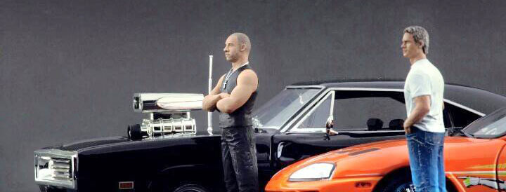 Brian and Toretto Fast and Furious
