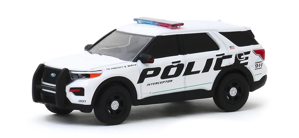 greenlight hotpursuit polilce car